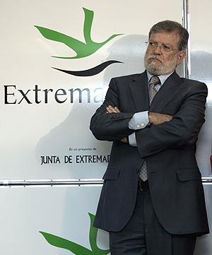 Juan Carlos Rodríguez Ibarra, en Madrid, el pasado mes de octubre. (Foto: Javi Martínez)