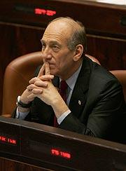 Ehud Olmert. (Foto: AFP)