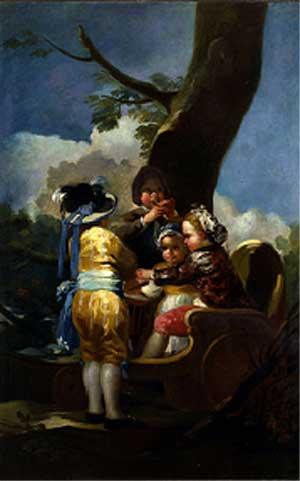 'Niños en el carretón'. (Museo de Arte de Toledo, Ohio)