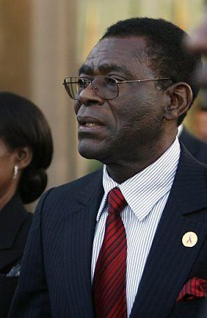 Teodoro Obiang Nguema, presidente de Guinea Ecuatorial. (Foto: EFE)