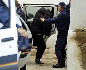 Maite Zaldívar, a su llegada a los juzgados de Marbella. (Foto: Antonio Pastor)