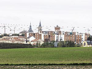 Vista del pueblo de Navalcarnero. (Foto: Javi Martínez)