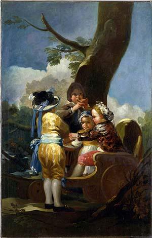 'Niños en el carretón'. (Museo de Arte de Toledo)