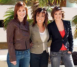 Mamen Mendizábal,Helena Resano y Cristina Villanueva. (Foto: EL MUNDO)