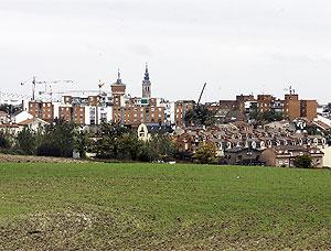 Vista de Navalcarnero. (Foto: J. Martínez)
