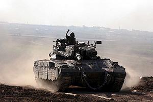 Soldados israelíes abandonan franja de Gaza. (Foto: EFE)