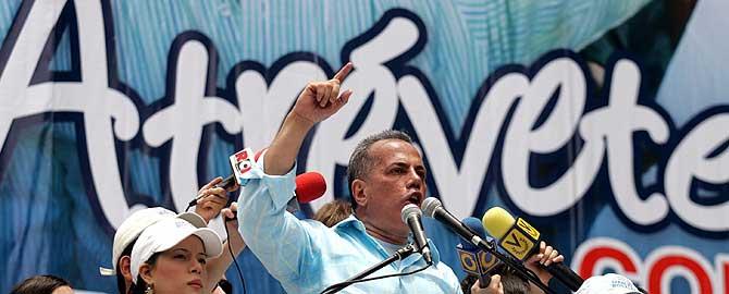 El candidato opositor, Manuel Rosales. (Foto: REUTERS)