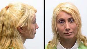 La mujer, en las imágenes distribuidas por la policía. (Foto: EFE)
