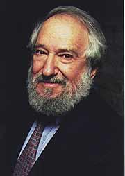 El matemático Seymour Papert.