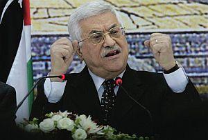Abu Mazen, durante su discurso a la nación. (Foto: AP)