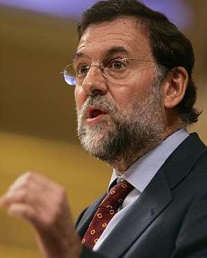 Rajoy, durante su intervención el miércoles en el Congreso. (Foto: EFE)