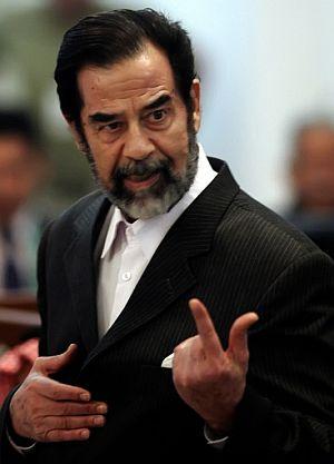 Sadam, en un momento del juicio por el 'caso Duyail'. (Foto: AFP)