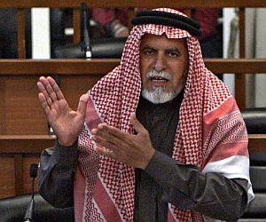 Awad al Bandar, uno de los colaborador de Sadam sentenciado a muerte. (Foto: AFP)