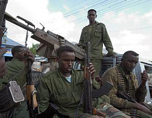 Un grupo de soldados somalíes. (Foto: AFP)