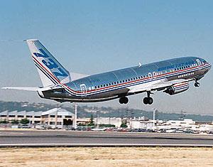 Imagen de un Boeing 737-400 facilitada por Boeing. (Foto: AP) .