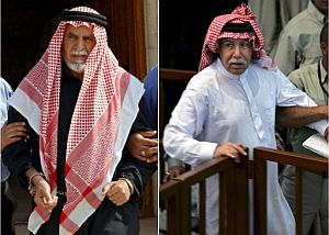 Auad Al Bandar (i) y Barzan al Tikriti (d). (Foto: EFE)