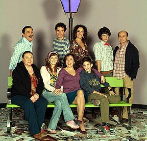 El equipo de la serie 'Aída'. (Foto: EL MUNDO)