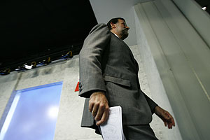 Mariano Rajoy. (Foto: Begoña Rivas)