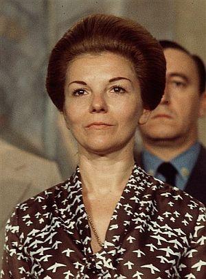 María Estela Martínez de Perón, en una foto de 1974. (Foto: AP)