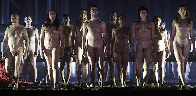 La última escena del 'Wozzeck' concebido por Calixto Bieito. (Foto: Julián Jaén)
