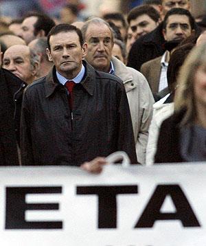 El lehendakari ha encabezado la marcha. (Foto: REUTERS)