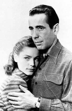 Bacall y Bogart. (Foto: EFE)