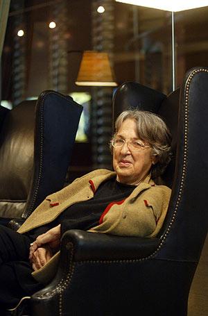 Esther Tusquets, en la presentación de '¡Bingo!', su nueva novela. (Foto: Domenec Umbert)