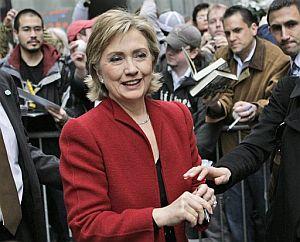 Hillary Clinton, durante un acto político en Nueva York. (Foto: EFE)