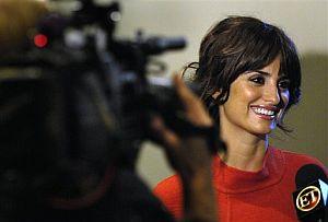 Penélope Cruz, en una entrevista tras conocer su candidatura. (Foto: AP)