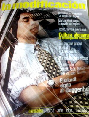 Primera portada de la revista 'La Modificación' (Foto: elmundo.es)