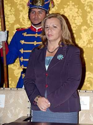 Guadalupe Larriva. (Foto: EFE)