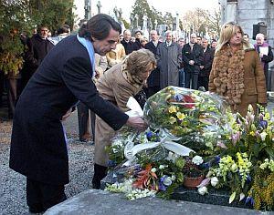 Aznar, este viernes, en el homenaje a Ordóñez. (Foto: EFE)