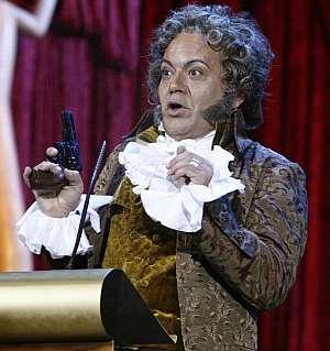 José Corbacho, caracterizado de Goya. (Foto: EFE)