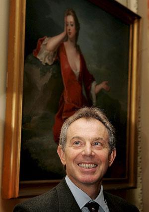 El primer ministro británico, Tony Blair, en Downing Street. (Foto: EFE)