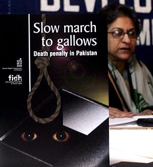Presentación de un informe de un grupo de defensa de los derechos humanos sobre la pena de muerte. (Foto: EFE)