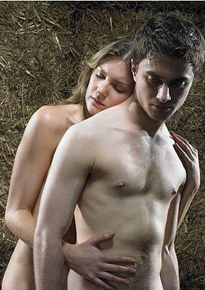 Daniel Radcliffe, en una imagen de 'Equus'. (Foto: AP) VER MÁS FOTOS