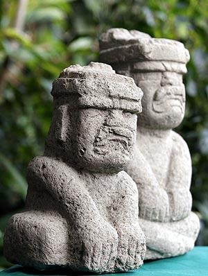 Imagen de las figuras encontradas. (Foto: REUTERS)