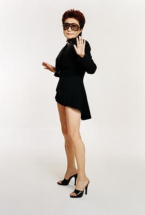 Yoko Ono. (Foto: Michael Lavine)