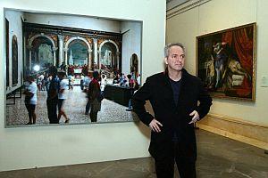Thomas Struth, en el Prado. (Foto: EFE)