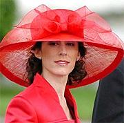 Erika Ortiz en la boda de los Príncipes de Asturias. (Foto: EFE)