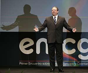 Gore, durante su presentación en Madrid. (Foto: Javi Martínez)