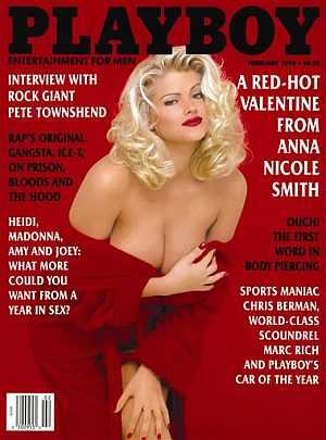 Una de las portadas de Playboy protagonizada por Anna Nicole Smith. (Foto   AP ef3070d919