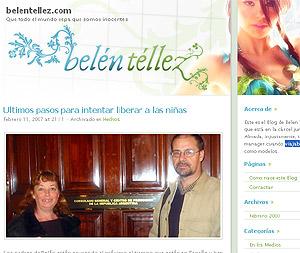 El blog de Belén Tellez.