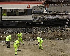 Un vagón del tren de la calle Téllez. (Foto: Ricardo Cases)