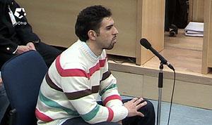 Jamal Zougam durante su declaración (Foto: LaOtra)