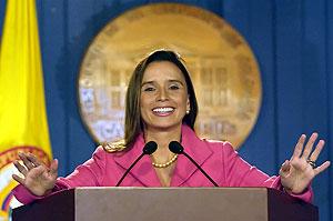 María Consuelo Araújo. (Foto: AFP)
