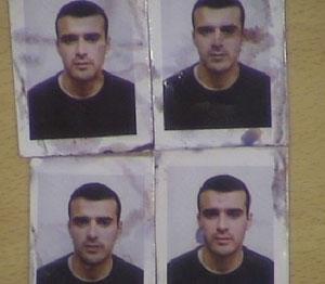 Fotografías que incriminan a Mohamed Bouharrat.