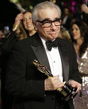 Scorsese, con su Oscar al mejor director. (Foto: AP)