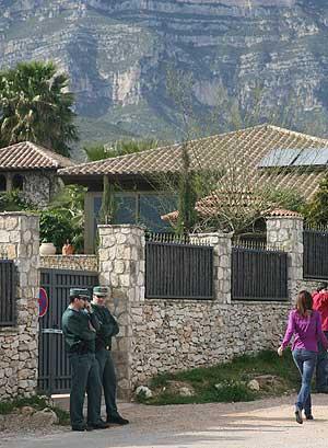La casa de Alcanar. (Foto: EFE)