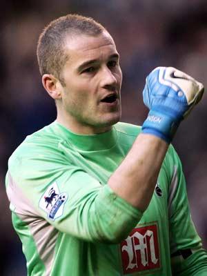 Paul Robinson, guardameta de la selección inglesa. (Foto: AP)